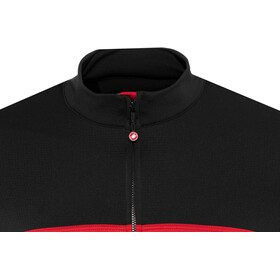 Castelli Prologo VI Jersey Herr black/red/black